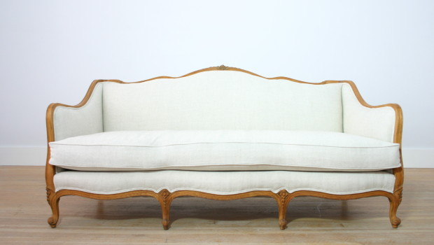 How to Turn a Vintage or Antique Sofa Into a Statement Piece